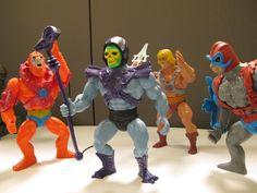Meet the 2014 #MOTU Giants: He-Man, #Skeletor, Stratos & Beast Man. Only at MattyCollector.com #entertainment #toys