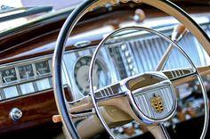 1948 Dodge Steering Wheel Photograph by Jill Reger - 1948 Dodge Steering Wheel Fine Art Prints and Posters for Sale