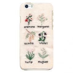 iPhone6Plus/6SPlusケース「Botanical sample」