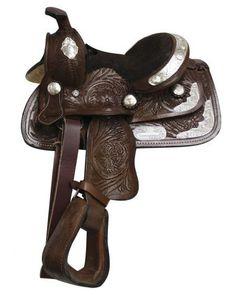Double T Youth Show Saddle - #19058