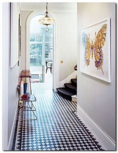 oh, i want that tile for our foyer.