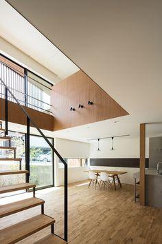 Casa de Yabugaoka, Osaka, Japón - Flame Planning Office - foto: Yohei Sasakura/Sasa no Kurasha