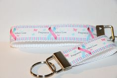 PREGNANCY AND INFANT Loss Awareness Pink and Blue Ribbon in