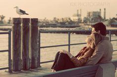 engagement shoot, docks, pier, redondo beach, klk photography