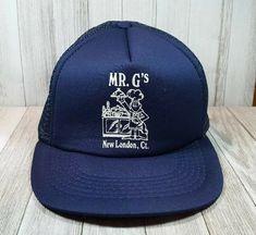 48ae2a7898187 Mr. G s New London CT Mesh Snapback Hat Cap Dad Caps
