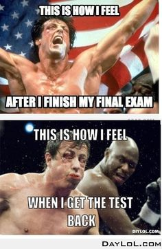 Exams can be disappointing so always work as hard as you can! Thanks to Your Daily LoL for the amazing meme!