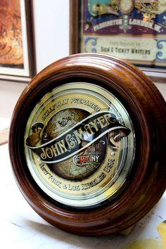 Born & Raised Glass Signs – John C Mayer, Singer/Songwriter USA « David Smith – Traditional Ornamental Glass Artist