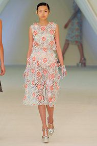 Erdem, spring/summer 2013, in London