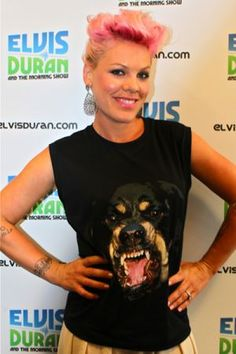 Pink In Studio! - Elvis Duran and the Morning Show.. LOVE HER.....