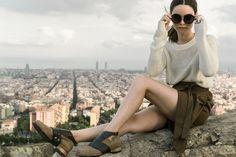 Con unos zapatos @ClaqueBCN tu outfit nunca será casual.