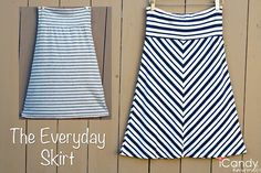 icandy handmade: (tutorial and pattern) The Everyday Skirt