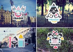 2 CITIES by LOV B , via Behance