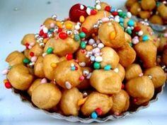 struffoli #Italian #Christmas #Sweets