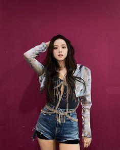 Number One Song, Number One Hits, South Korean Girls, Korean Girl Groups, La Chicken, Miss Korea, Blackpink Photos, Park Chaeyoung, Ji Soo
