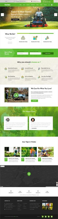 Garden love is a wonderful 3in1 responsive #HTML5 bootstrap template for #gardener, lawn services, #agriculture service websites download now➩ https://themeforest.net/item/garden-love-landscaping-gardening-html-template/19515597?ref=Datasata