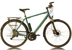 2014 Cucuma Chili Trekking Bike.. RH 49cm  wasserblau glänzend lackiert.  www.cucuma.com