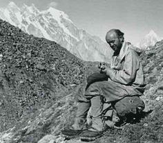 Fritz Wiessner on the return march from K2 - K2 The 1939 Tragedy book