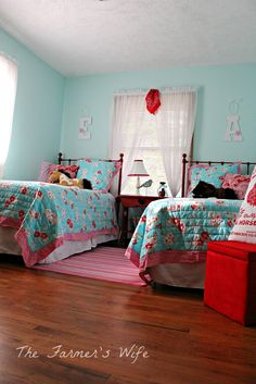 79 Best Turquoise & Red Bedroom images in 2019   Bedroom red ...