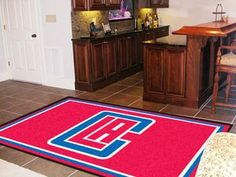 NBA - Los Angeles Clippers 5x8 Rug