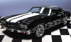 '70 Chevelle SS Convertible. Awesome American Musclecar!
