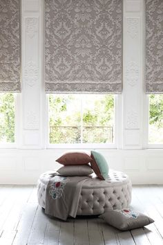 Matthew Williamson wallpaper SASH Roman Blinds