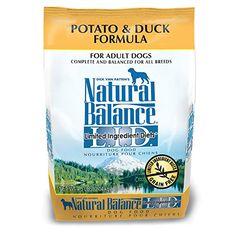 Natural Balance LID Limited Ingredient Diets Dry Dog Food Potato Duck Formula Size lb Color L. Canned Dog Food, Dry Dog Food, Formula 4, Large Dog Crate, Pregnant Dog, Dog Food Brands, Dog Diet