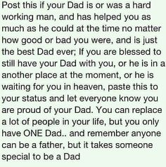 I Love My Dad Quotes | Pinned by Shannon Barnette