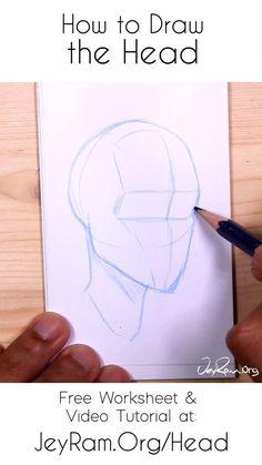 Body Drawing Tutorial, Manga Drawing Tutorials, Drawing Techniques, Art Tutorials, Drawing Heads, Human Drawing, Art Drawings Sketches Simple, Pencil Art Drawings, Art Painting Gallery