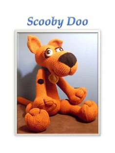 Scooby Doo by MemaMadeMe on Etsy vorlagen hund Your place to buy and sell all things handmade Crochet Cross, Crochet Bear, Cute Crochet, Crochet Animals, Crochet Dolls, Scooby Doo, Amigurumi Patterns, Crochet Patterns, Crochet Mignon