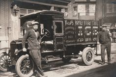 Julius and Max Bergmeister, the Lawrence Ice Company, Philadelphia, PA, circa 1925