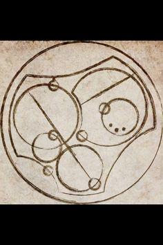 """""""I love you"""" in circular Gallifreyan"""