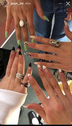 Aycrlic Nails, Swag Nails, Hair And Nails, Milky Nails, Finger, Nagellack Design, Fire Nails, Manicure E Pedicure, Minimalist Nails