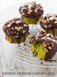 muffin matcha chocolat
