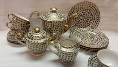 Hey, I found this really awesome Etsy listing at https://www.etsy.com/il-en/listing/286587317/rare-stunning-tea-service-for-4-gold