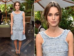 Keira Knightley attended a brunch in LA on Sunday (November 9) to celebrate 'The Imitation Game' hosted by The Weinstein Company. The actress wore a Chanel