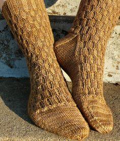 Ravelry: Lacunae Sock pattern by Anne Hanson Baby Sweater Knitting Pattern, Knitting Socks, Knitting Patterns, Weaving Patterns, Knitting Stitches, Blue Moon Fiber Arts, Anne Hanson, Knitting Blogs, Patterned Socks
