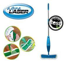 Aqua Laser Spray mop (blauw) #aqualaserspraymop #aqualaser #spraymop #dweil #bekendvantv