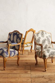 Paisley Viola Occasional Chair - anthropologie.com