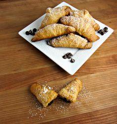 Chocolate Croissants - Served 1