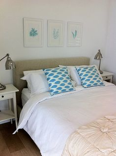 Real rooms: Toni Lee's beachy bedroom