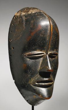 Bete Mask, Ivory Coast Height: 9 1/2 inches (24.1 cm)