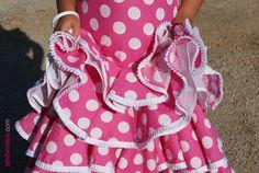 Tutorial: cómo hacer un traje de flamenca de niña (4)   La hilandera - Mercería y Costura