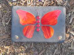 Stained Glass Mosaic Butterfly for Home or by WingersGardenArt, $29.00
