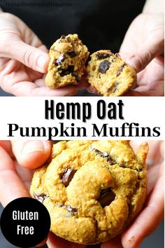 Wholesome, tender, and full of good for you foods! Made all in the bowl of a food processor! Gluten Free Cupcake Recipe, Gluten Free Muffins, Vegan Gluten Free, Muffin Recipes, Gluten Free Recipes, Oat Muffins, Dairy Free Options, Real Food Recipes, A Food