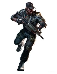 """Killzone: Mercenary"" concept art (artist unknown)"