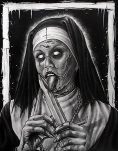 Nun (Untitled) by herrerabrandon60