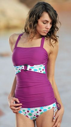 This site has a TON of super adorable modest swim suits! Seriously they are all so cute.