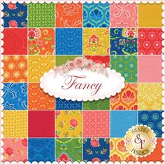 Fancy By Lily Ashbury For Moda Fabrics - Expected Arrival Date Is October 2014