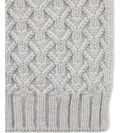 JOHNSTONS Quilted cashmere scarf
