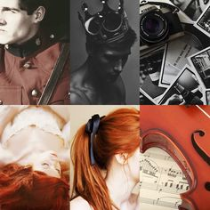 The Prince, Guard, and Girl. The crown, violin and camera<3